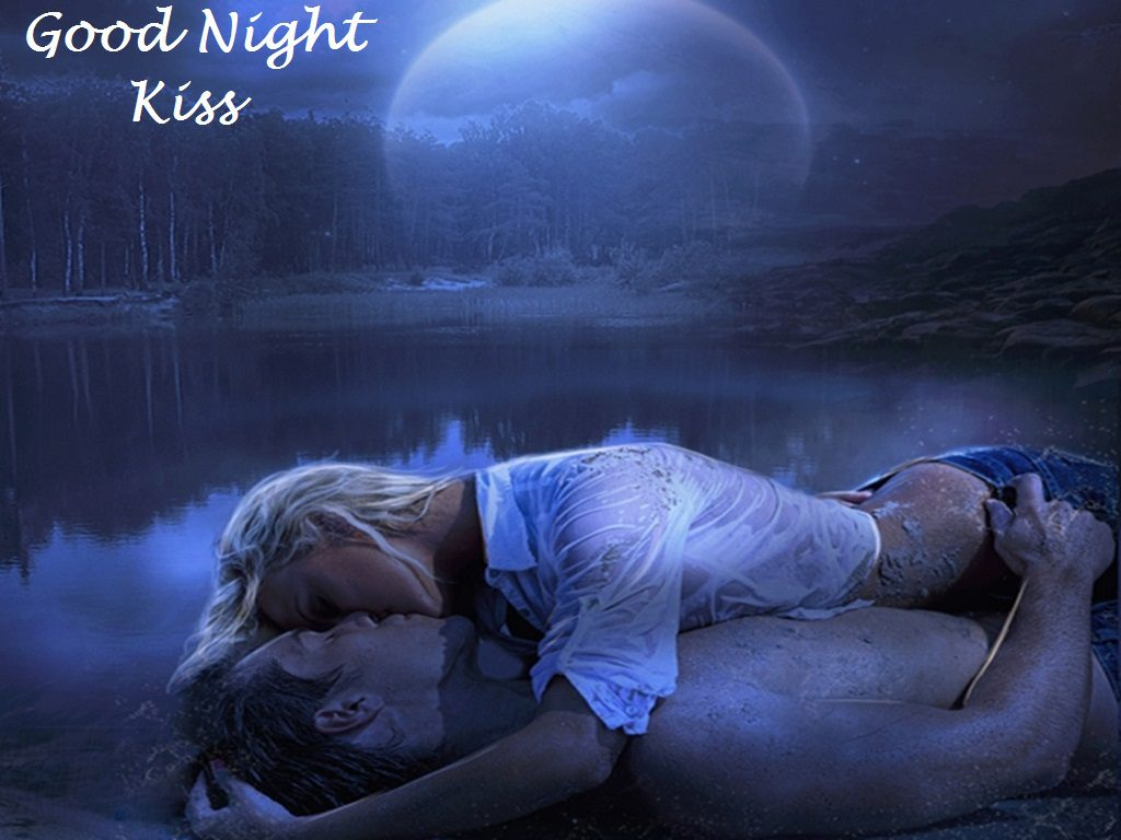 Love Wallpaper With Girlfriend : Good Night Kiss Images for girlfriend, Wife, Husband or Boyfriend
