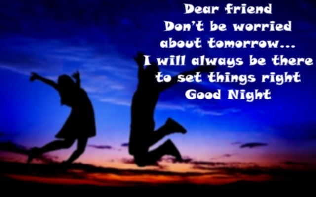 Sweet Good Night Picture Messages for Friends