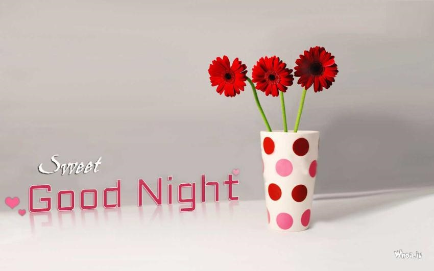 Good Night Flowers Images - Good night flower pictures