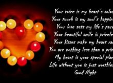 Good Night Girlfriend Images, Wishes and Quotes