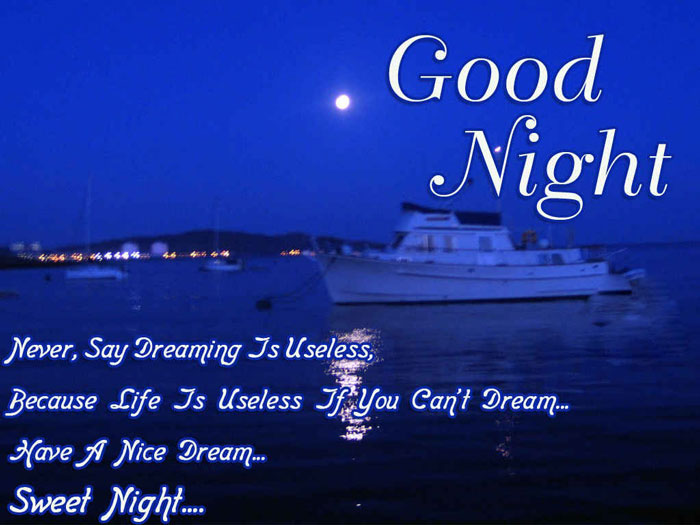 Good night images for him or her