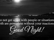 Good night love wishes
