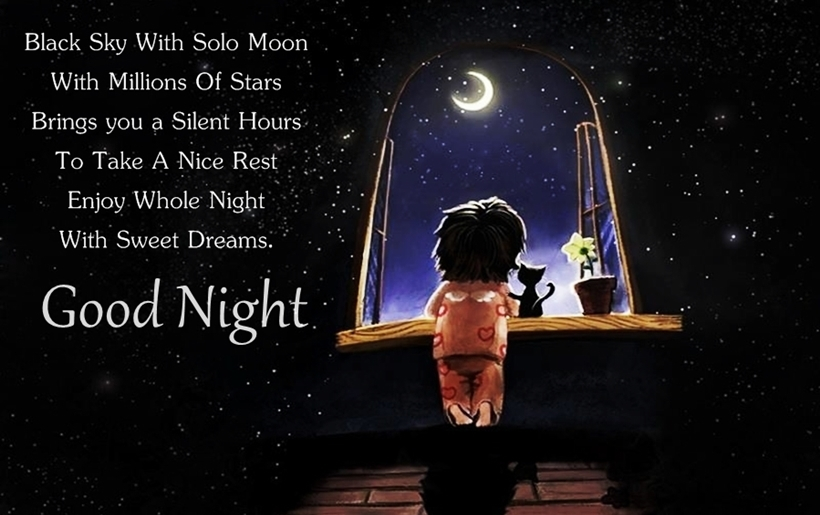 Beautiful Good Night Wishes : Good Night Quotes And Images
