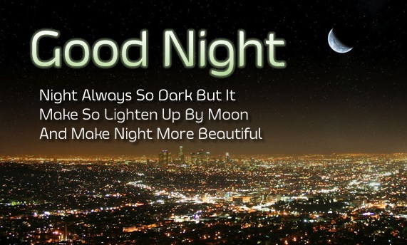 Sweet Good Night Quotes And Wishes