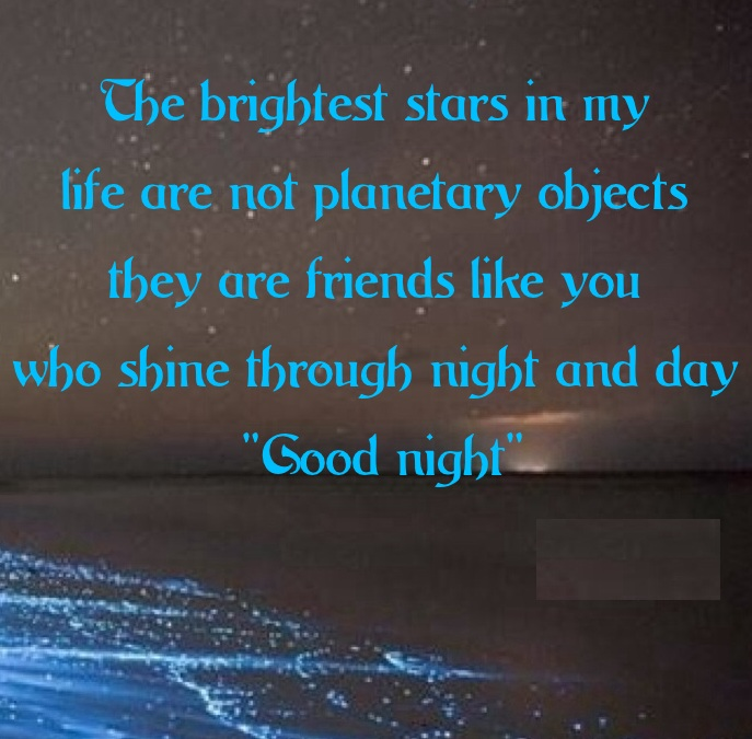 Good Night Quotes Images For Friends And Family